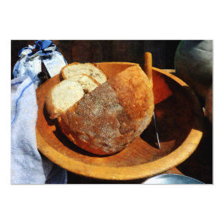 "Homemade Bread 5"" X 7"" Invitation Card"