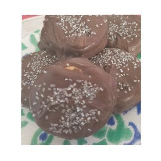 Homemade Chocolate Cookies Notepad