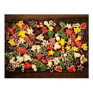 Homemade Christmas cookies Postcard