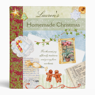 Homemade Christmas Recipe Binder
