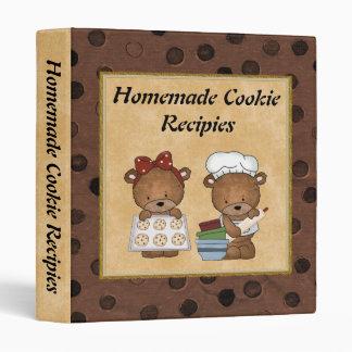 Homemade Cookie recipies Binder