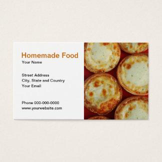 Homemade Food Business Card