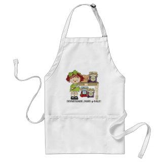 Homemade Jams for sale vendors apron