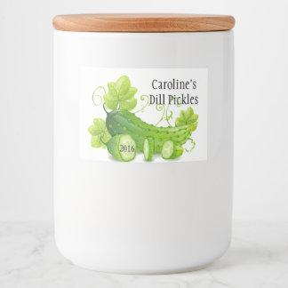 Homemade Pickles Label