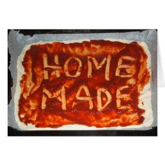 Homemade Pizza Base Folding Card