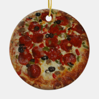 Homemade Pizza One Sided Ornament