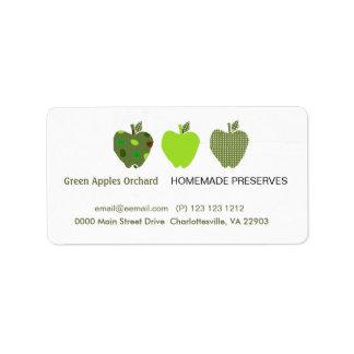 Homemade Preserves Business Custom Address Labels