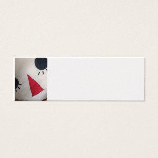 Homemade Raggedy Ann Mini Business Card
