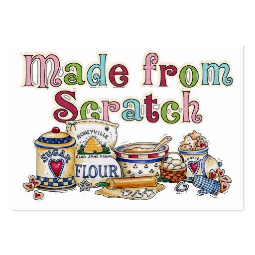 Homemade - SRF Business Card Templates