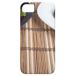 Homemade vegetarian dishes of stewed eggplant iPhone 5 cover