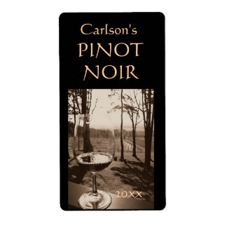 Homemade Wine Labels (Vertical)