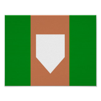 "homeplate 11"" x 8.5"", Value Poster Paper (Matte)"