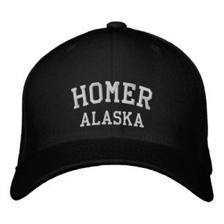 Homer, Alaska Embroidered Hats