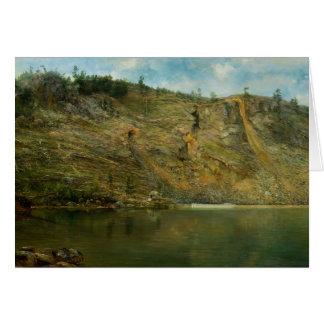 Homer Dodge Martin - The Iron Mine, Port Henry Card