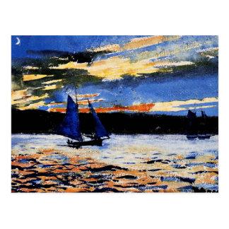 Homer - Gloucester Sunset Postcard