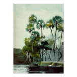 Homer - Homosassa River Poster