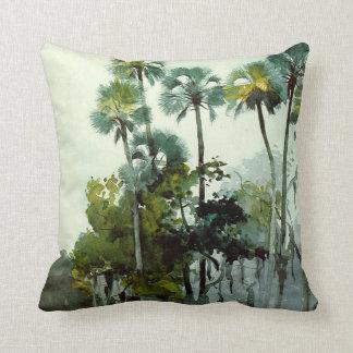 Homer - Homosassa River Throw Pillow