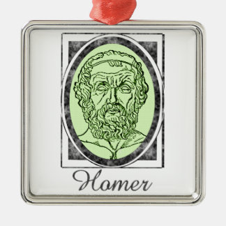 Homer Metal Ornament