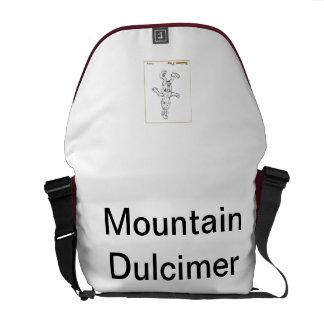 Homer the Dulcimer's Mountain Dulcimer Bag Messenger Bags