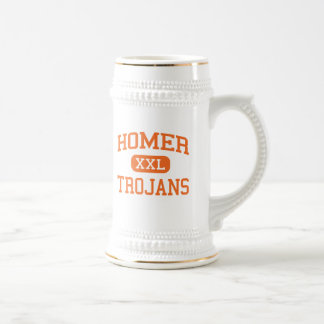 Homer - Trojans - High School - Homer Michigan Beer Stein