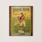 Homerun Cigarettes Baseball Vintage Jigsaw Puzzle