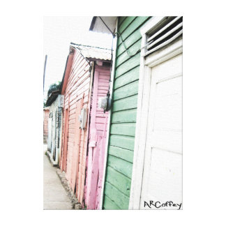 Homes Stretched Canvas Prints