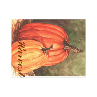 Home's Harvest Canvas Print