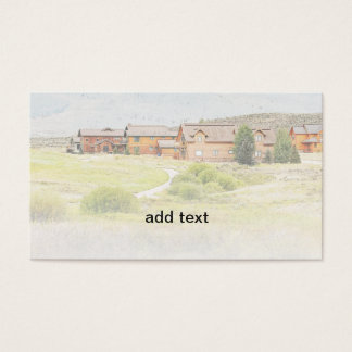 homes in Colorado Business Card