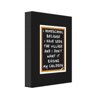 Homeschool Canvas Art Gallery Wrapped Canvas