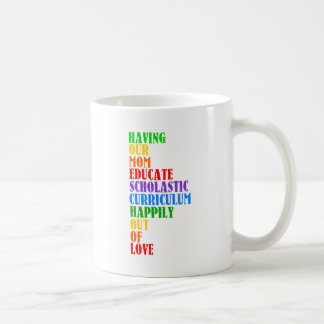 HOMESCHOOL COFFEE MUG