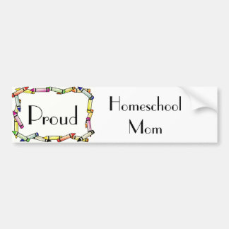 Homeschool Mom Bumper Sticker