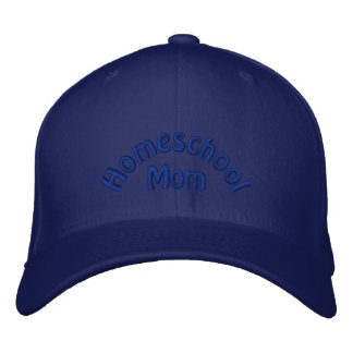 Homeschool Mom Embroidered Hats