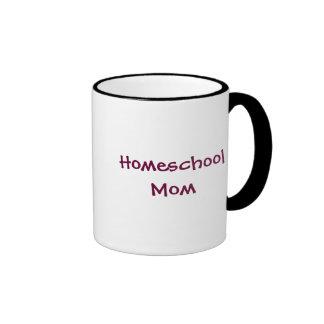 Homeschool Mom Ringer Coffee Mug