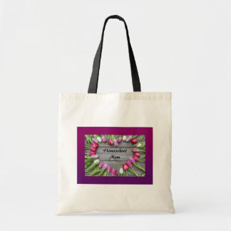 Homeschool mom tote bag