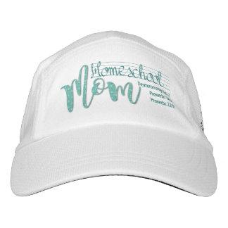 """Homeschool Mom"" White Knit Hat (w/Spurgeon Quote)"
