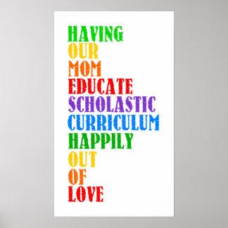 Homeschool Poster
