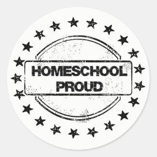 Homeschool Proud Stickers