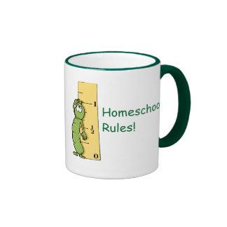 Homeschool Rules! Ringer Coffee Mug