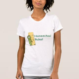 Homeschool Rules! T Shirts