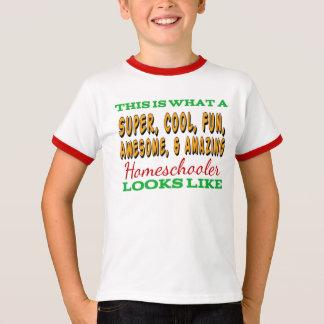Homeschool Shirt   Awesome Homeschooler