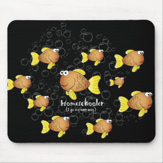 Homeschooler  Fish Mouse Pad