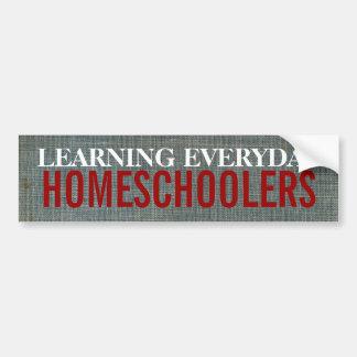 Homeschoolers Bumper Sticker