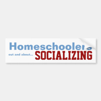 Homeschoolers - Socializing Sticker