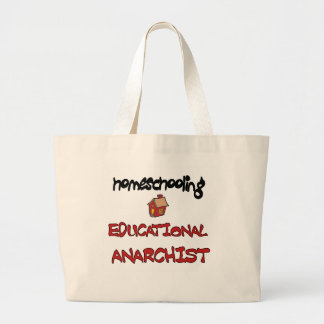homeschooling large tote bag