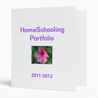 HomeSchooling Portfolio Vinyl Binder
