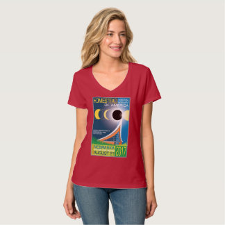 Homestead National Monument of America Eclipse T-Shirt