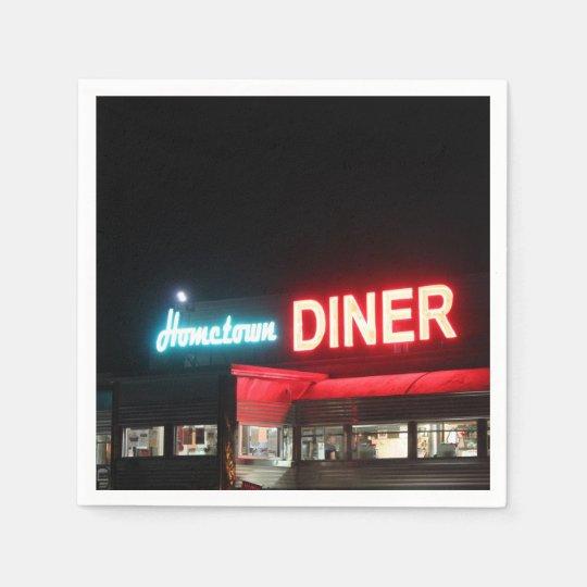 Hometown Diner Paper Napkins