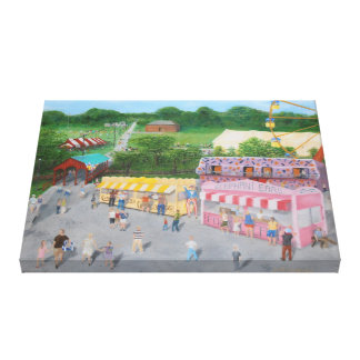 Hometown Fair Canvas Print