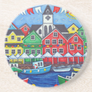 Hometown Festival Coaster by Lisa Lorenz