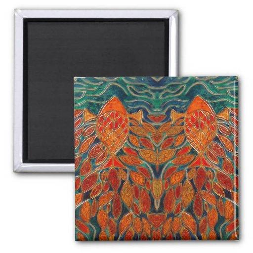 homeward (painting) magnet